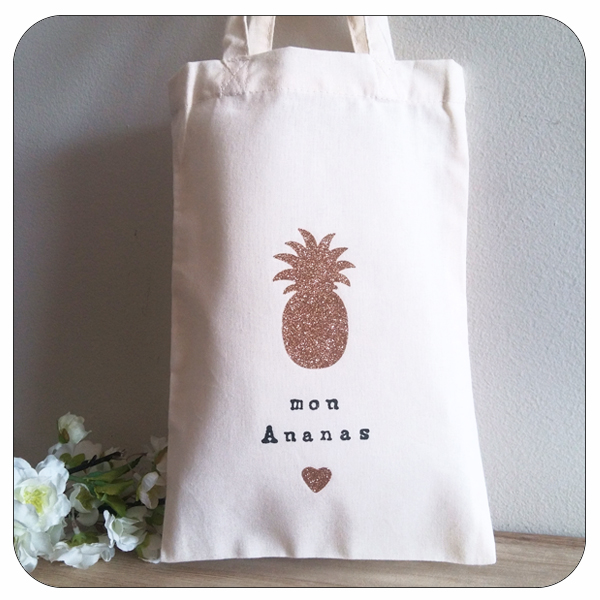 Mon Mini AnanasPoz Bag Tote Paper 5j3R4AL